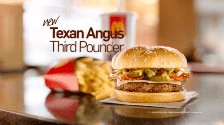 McDonald's Texan Angus